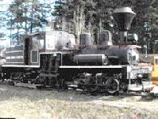 B C Forest Discovery Centre - Locomotive